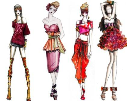 fashion design drawings 01